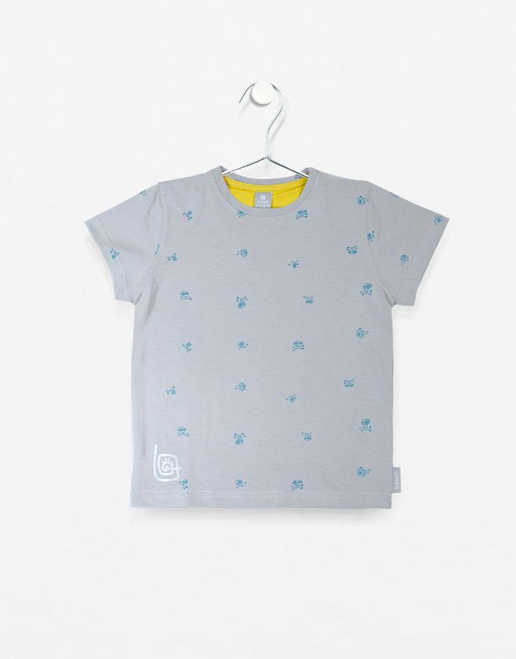 T-shirt b-skull. Straaasznie fajna koszulka.