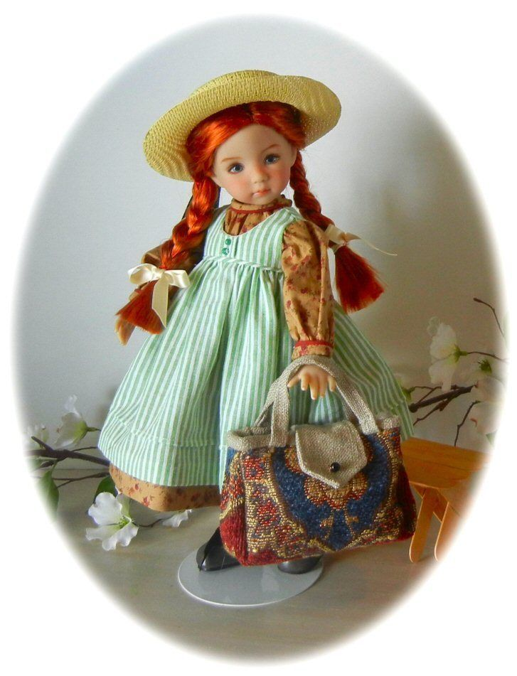 "Anne of Green Gables Effner 13"" Little Darling Geri Uribe 1 Outfits Box COA 