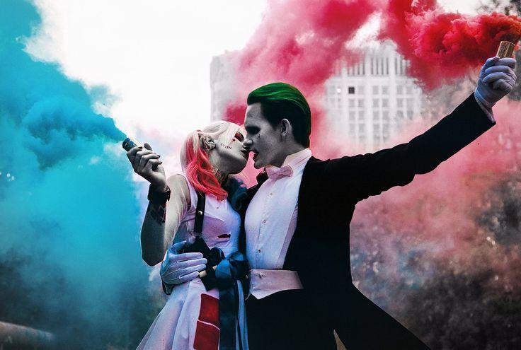 ...Harley x Joker cosplay#