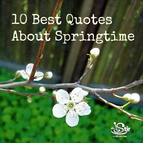 10 Best Quotes About Springtime