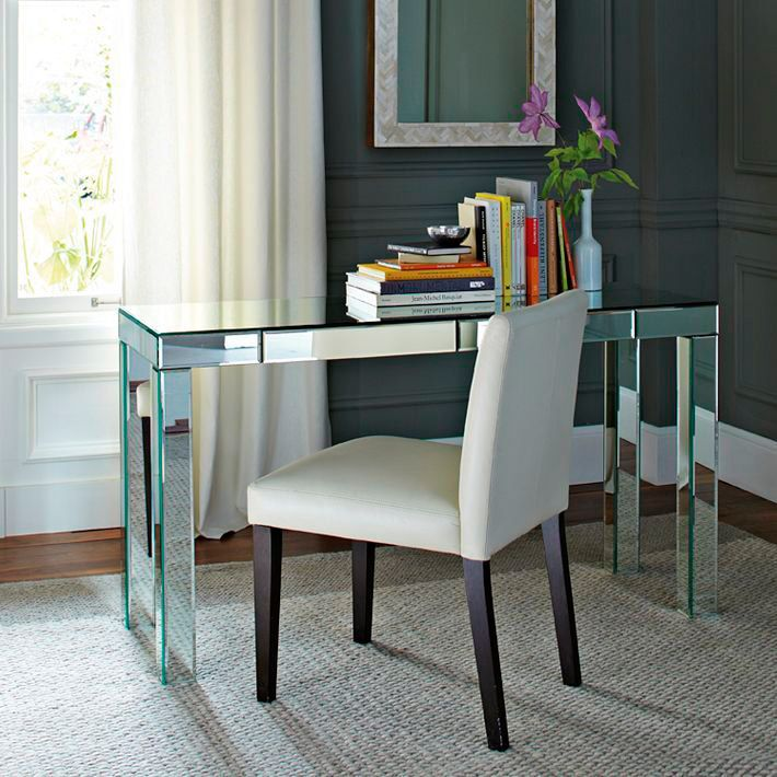 Completely new 19 best Mirrored Desks images on Pinterest | Mirror desk, Mirrored  JE23