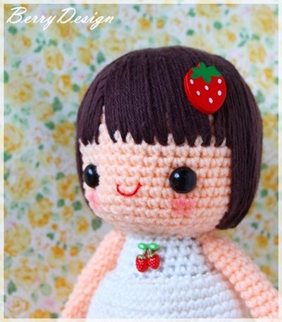Strawberrica Amigurumi Pattern
