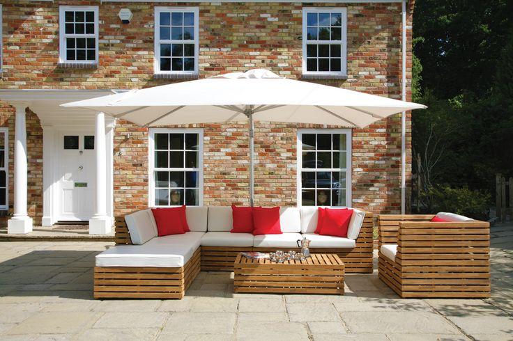 Home :: Garden Furniture :: Garden Furniture Sets :: 6 Seater Venetian Lounge