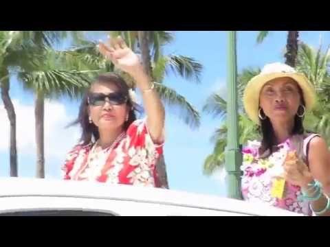 BEAUTIFUL ALOHA FESTIVALS PARADE 2016. WAIKIKI BEACH, HONOLULU HAWAII..Youtube.com/globalvideopro1..PLEASE SUBSCRIBE.