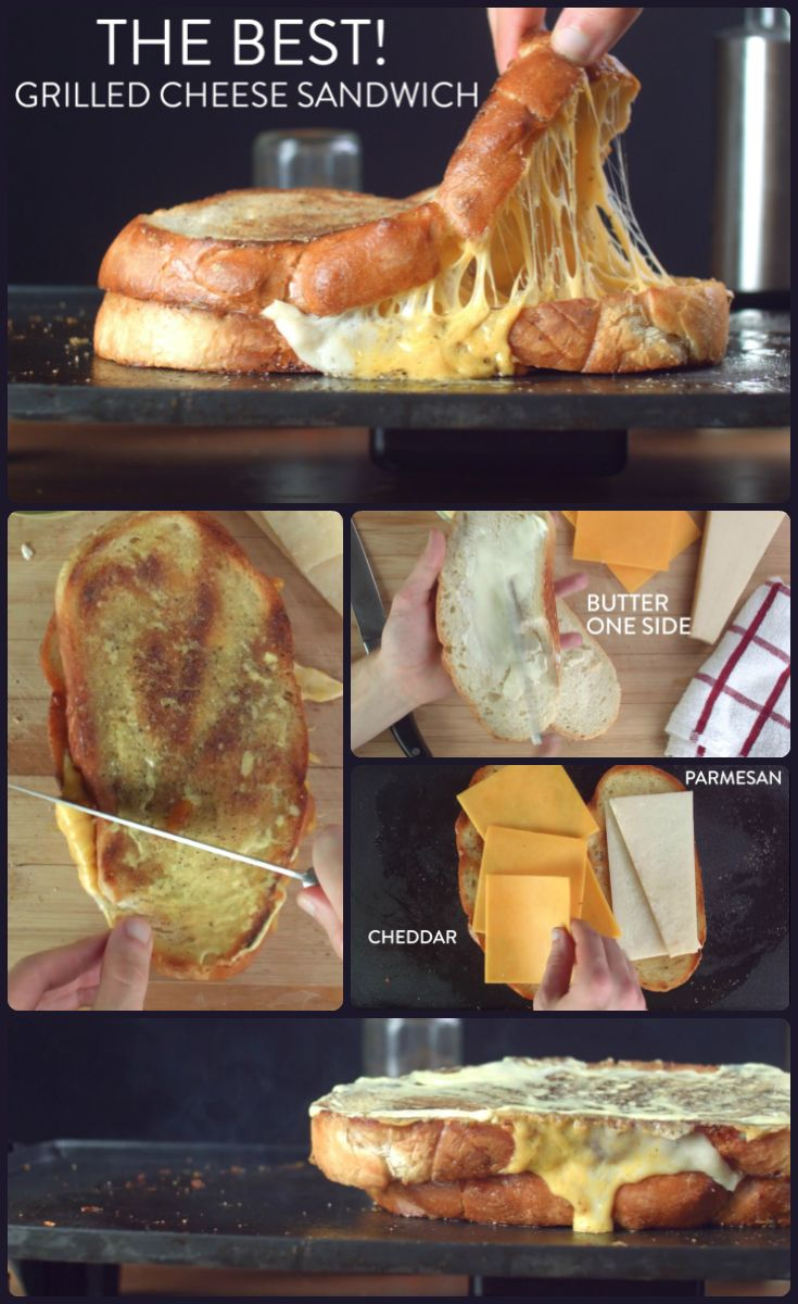 Everyone loves grilled cheese. Here's how to make the best tasting gourmet grilled cheese with only five ingredients. | Easy  gourmet grilled cheese recipe