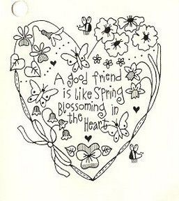 embroidery design~heart