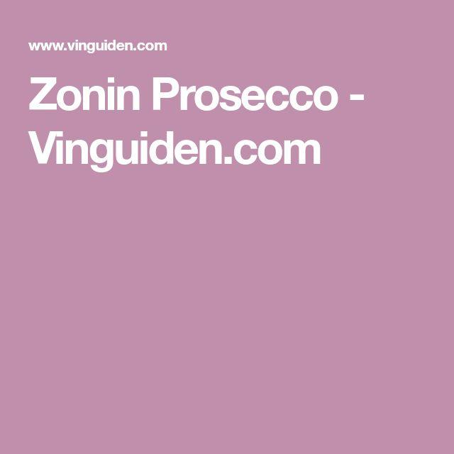 Zonin Prosecco - Vinguiden.com