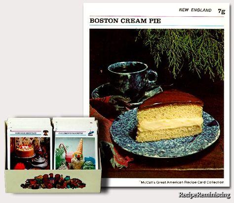 Boston Cream Pie / Boston Krempai
