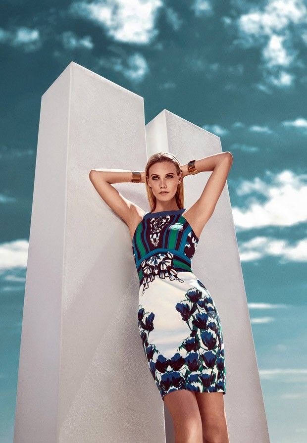 Fashion photographer Koray Parlak captures Gizia's Spring Summer 2015 advertising campaign featuring Emma Jane Menteath styled by Rabia Yaman.