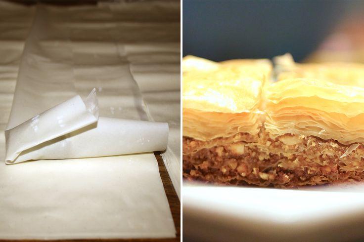 Pasta Fillo o Phyllo, ricetta originale