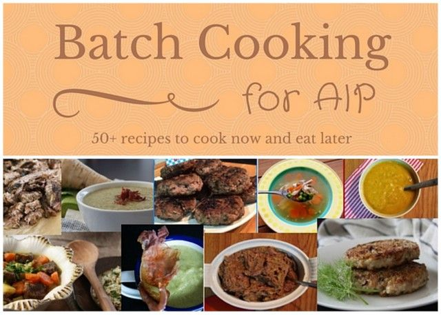 Batch Cooking Recipe Roundup | Adventures in Partaking