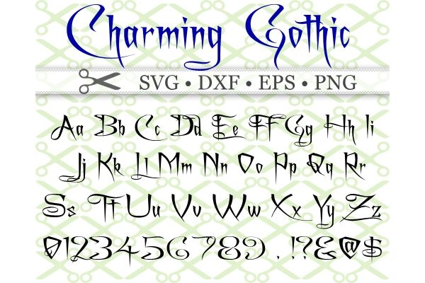 Charming Svg Font Gothic Font Lettering Lettering Alphabet Graffiti Lettering Fonts