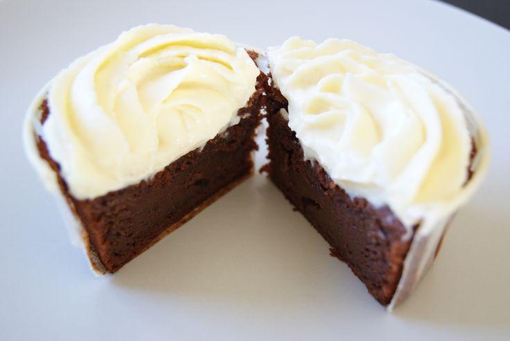 Cupcake chocolat vanille
