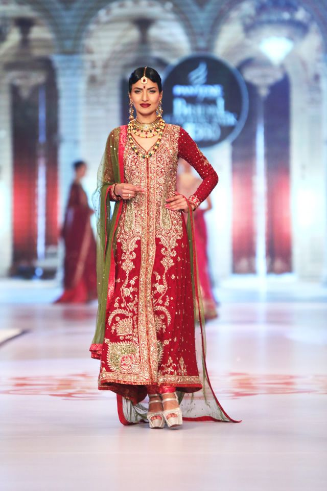 Mehndi Zaheer : Zaheer abbas bridal collection at pbcw day