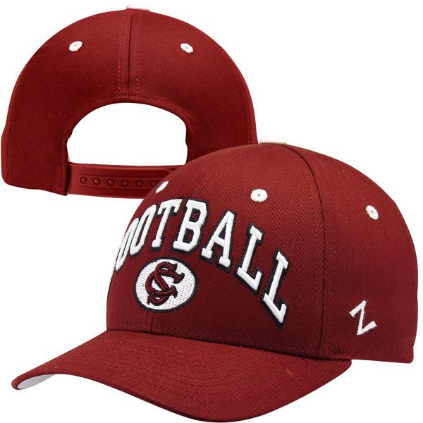 Zephyr South Carolina Gamecocks Football Team Color Adjustable Hat - Garnet - $9.99