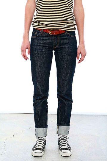 Raw Denim Roundup: 6 Raw Denim Jeans for Women