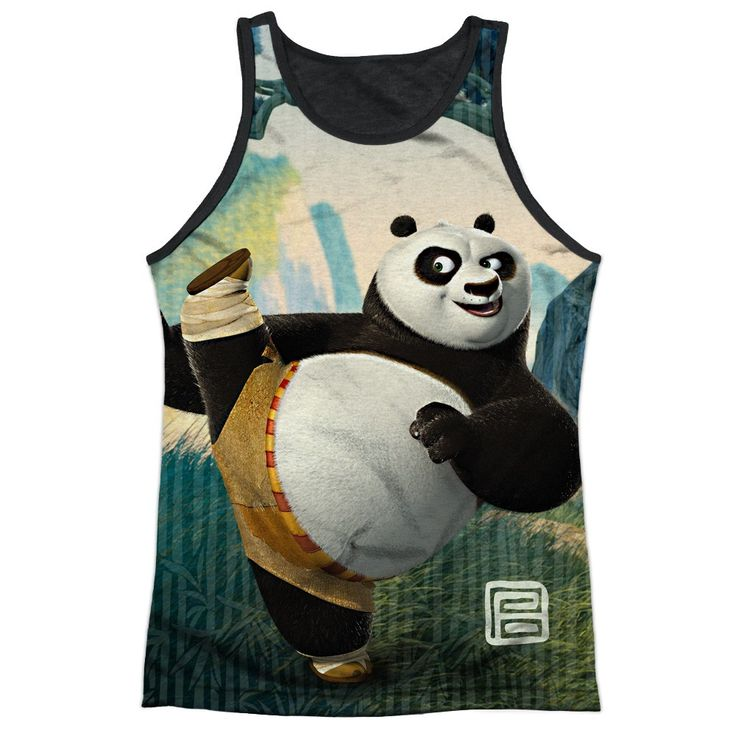 """Checkout our #LicensedGear products FREE SHIPPING + 10% OFF Coupon Code """"Official"""" Kung Fu Panda/training-adult Poly Tank Top T- Shirt - Kung Fu Panda/training-adult Poly Tank Top T- Shirt - Price: $24.99. Buy now at https://officiallylicensedgear.com/kung-fu-panda-training-adult-poly-tank-top-shirt-licensed"""