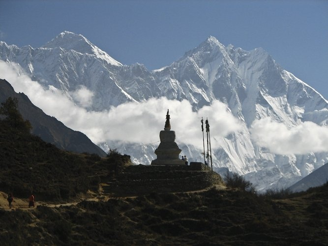 Everest Base Camp trek, #Nepal, the famed hiking trail to the foot of the world's highest mountain.