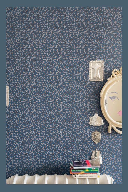 Farrow And Ball Rue De L Universit. Hague Blue With Farrow And