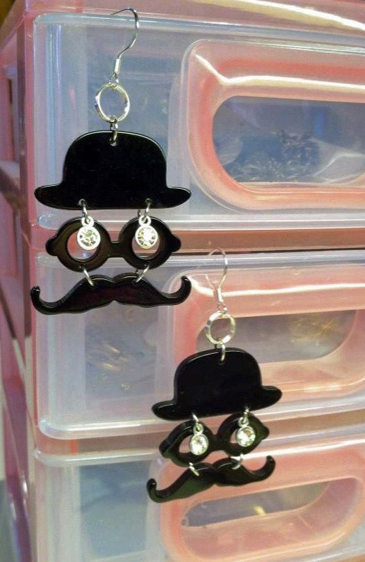 I Mustache You A Question Trendy Teen Jewelry Popular by PjCreates, $16.00