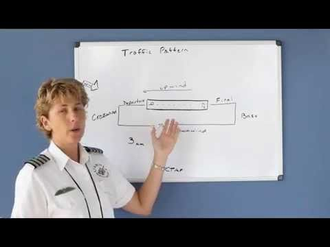 Traffic Pattern Communications & APPROACH/LANDING STEP BY STEP Private Pilot - Lesson 5k - YouTube