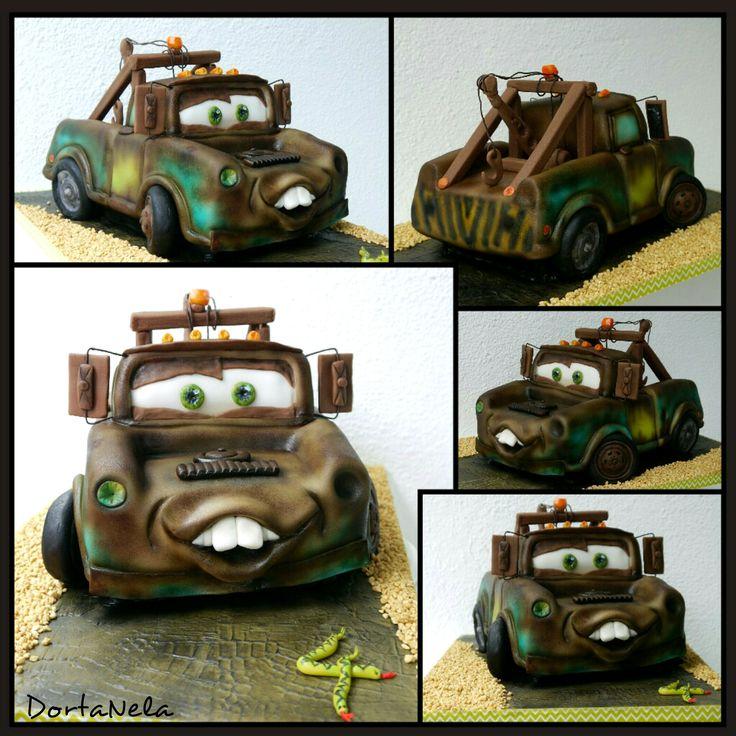 "MATER 3D CAKE (3D dort BURÁK z filmu ""Cars"")"