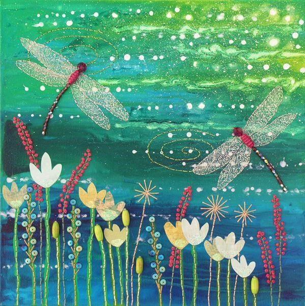 Dragonfly Pool by Josephine Grundy