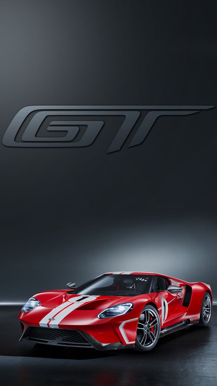 Universal phone wallpapers backgrounds red ford gt super - Car wallpaper phone ...