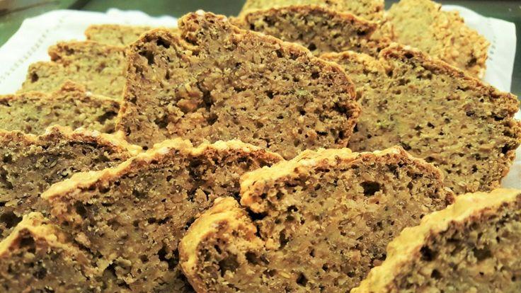 pane di ceci e semi di lino alla curcuma 2