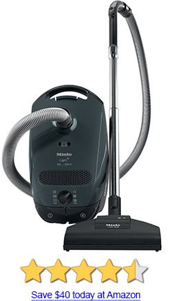 miele s2121 capri canister vacuum review on the lower priced end for these best - Canister Vacuum Reviews