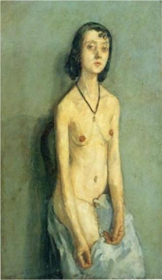 Nude Girl. by Gwen John