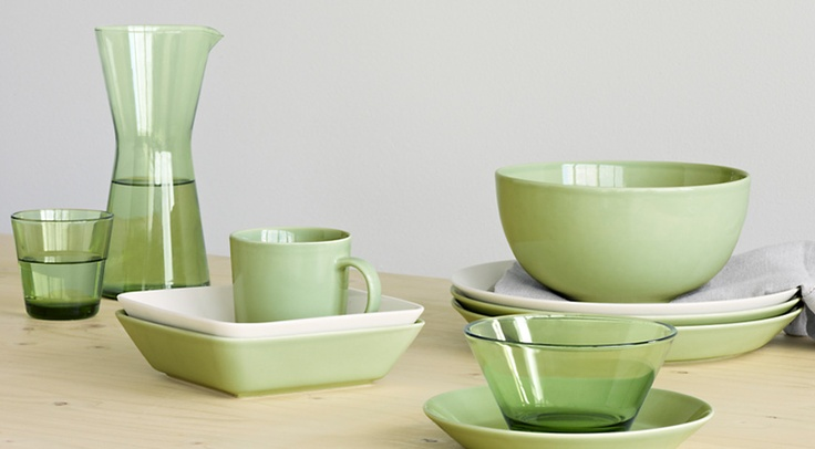 The newest color in Teema. Celadon.