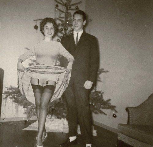 Nanette always has a very flashy Christmas.