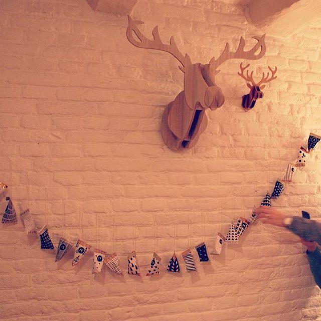 1dicembre - calendario dell'avvento: fatto!! #adventcalendar #natale #christmas #calendarioavvento #ognigiornounpensiero #1dec #home #diy
