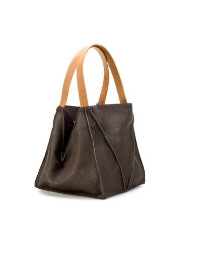 29,95 € zara geometric sacaShoese Bags Accessories