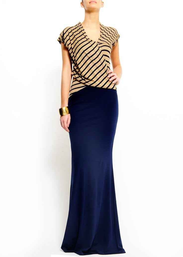 Best 25  Navy maxi skirts ideas on Pinterest | Navy beachwear ...