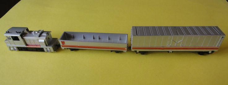 Vintage Tyco Transformers Electric Train Set Three (3) Pc. #Tyco