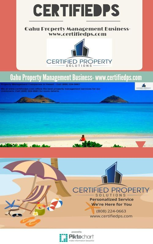 Oahu Property Management Business- www.certifiedps.com
