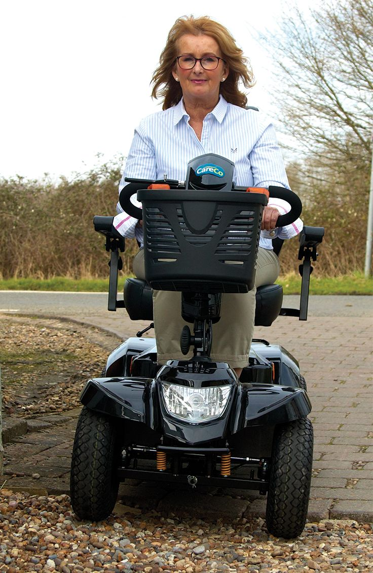 The Daytona is a more powerful mobility scooter that can travel greater distances then most other scooters.