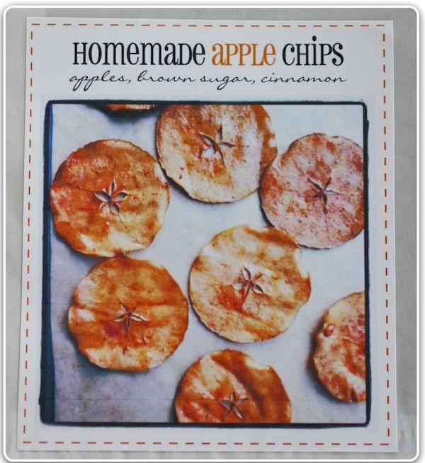 que buena pinta !  manzana, azucar moreno y canela ! yum