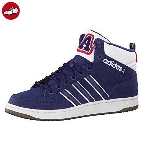 adidas NEO Herren Sneaker HOOPS LX MID collegiate navy/collegiate navy/ftwr white 41 1/3 - Adidas sneaker (*Partner-Link)