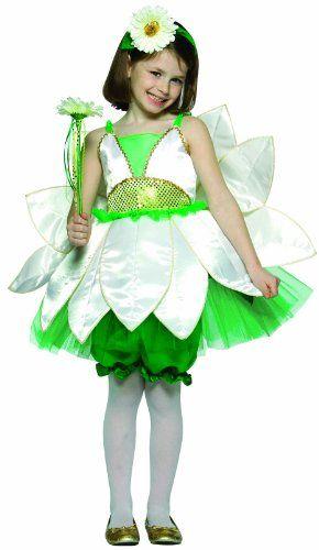 Daisy Flower Fairy Costume Child 4-6x | DD's flower ...
