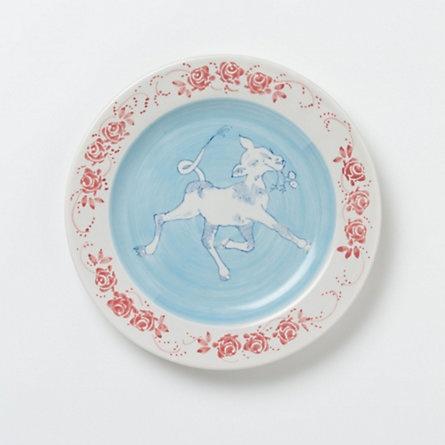 Terrain Farmhouse Dinner Plate  #shopterrain - I LOVE these.  They're just so cute.