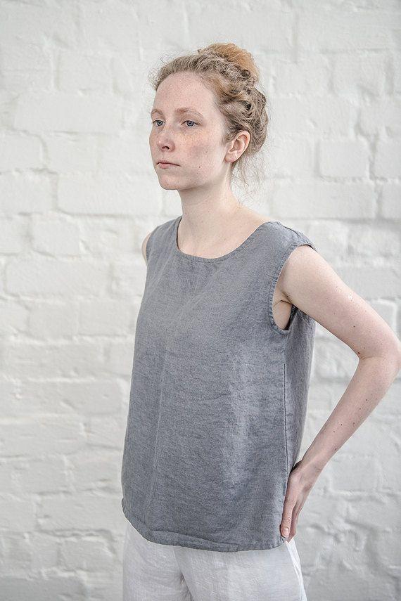 Best 25  Linen tops ideas on Pinterest | Linen tunic, Linen shirts ...