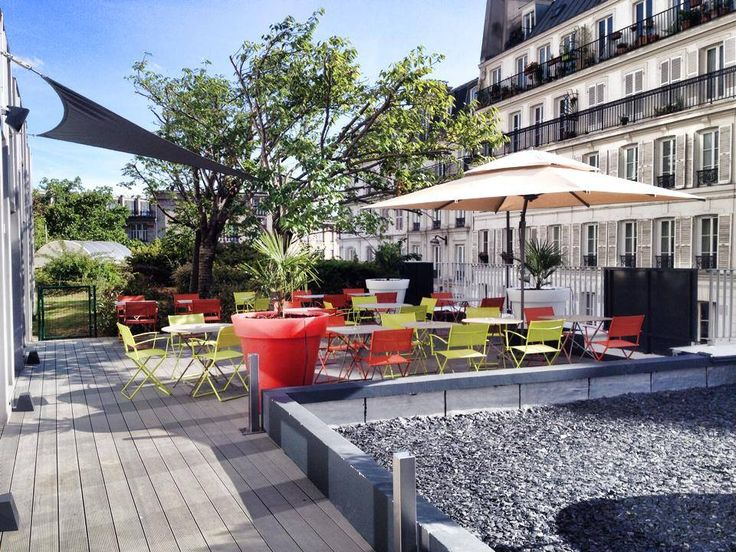 La terrasse du coffee for Restaurant miroir paris 18