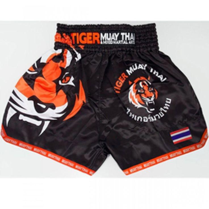 MMA Tiger Muay Thai Boxing Training Breathable Shorts Kickboxing Clothing New #Unbranded