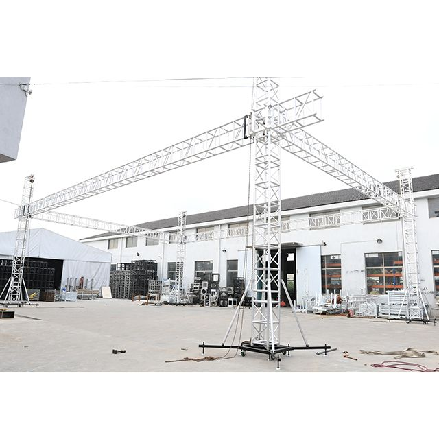 Aluminum Concert Stage Roof Truss System For Sale Buy China Outdoor Stage Roof Truss Structure Shanghai Event Aluminium Truss Roof System Heavy Duty Durable L Outdoor Stage Roofing Systems Roof Trusses