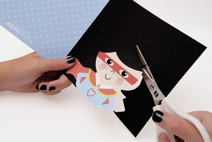 Kapselknipkaarten, met deze kaarten knip zelf een uniek kapsel. Stekeltjes, krullen of een paardenstaart? Jij bent de kapper! | Papiergoed