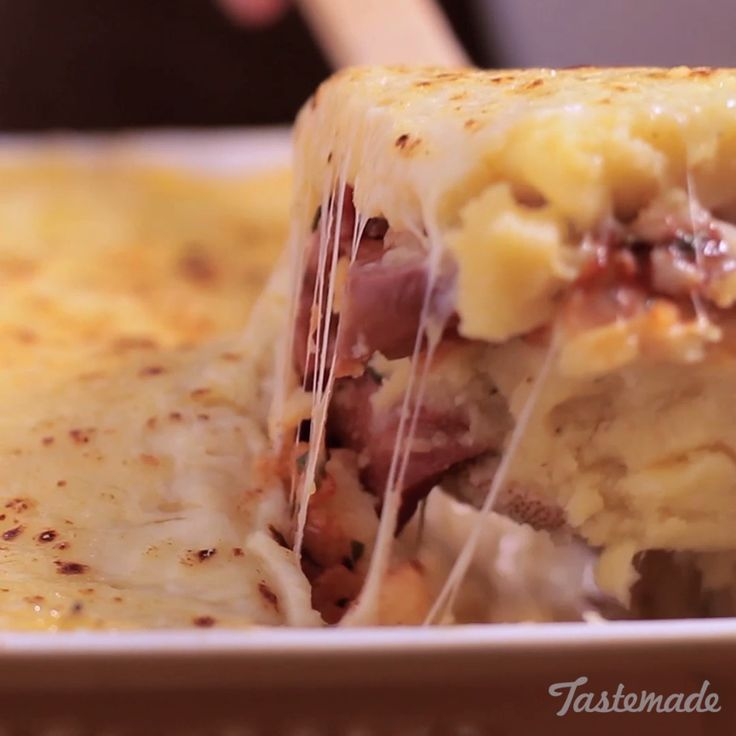 Stuffed Polenta recipe