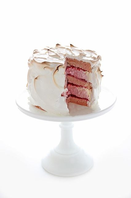 Baked Alaska Cake Recipe Pampered Chef
